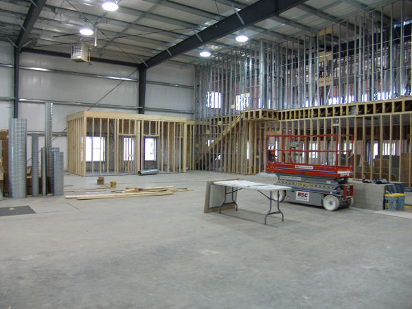 Mezzanine Floor Design Office